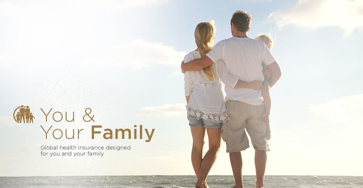 Global health insurance designed for you and your family