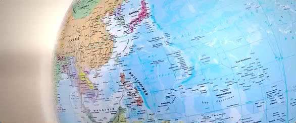 map monde- poster