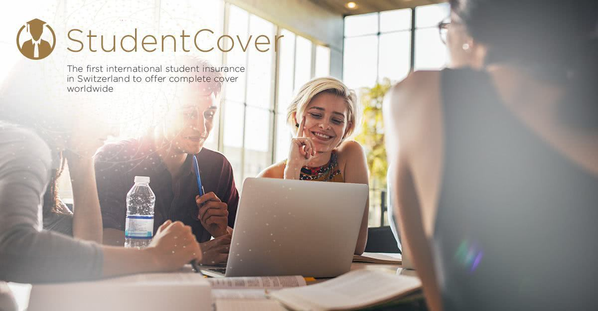 StudentCover – The first international student insurance in Switzerland to offer complete cover worldwide