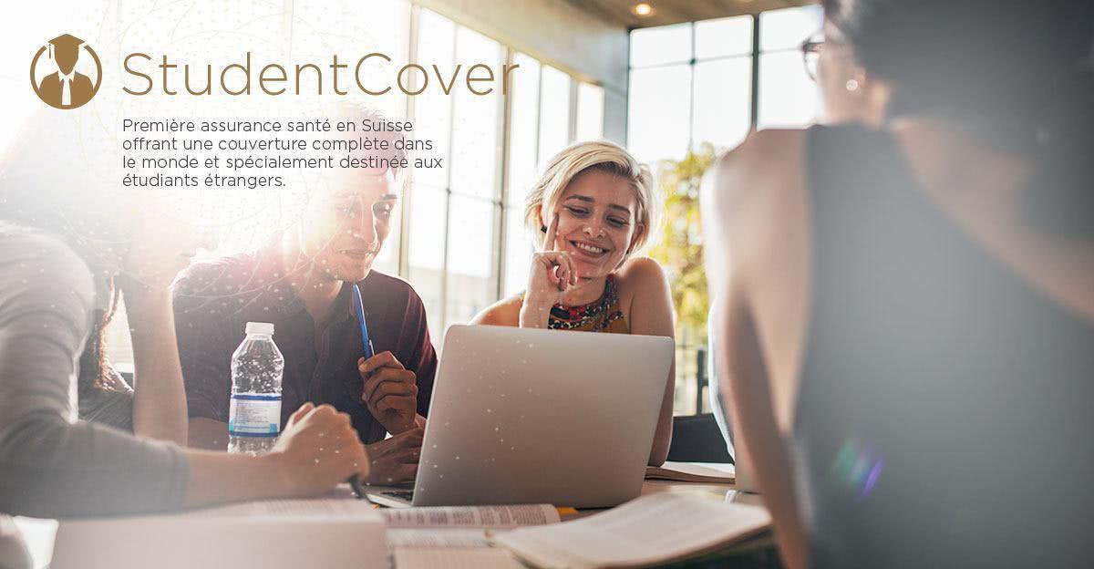 StudentCover - Première assurance santé en Suisse offrant une couverture complète dans le monde et spécialement destinée aux étudiants étrangers.